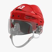 Hockey Helmet Generic 2 3d model