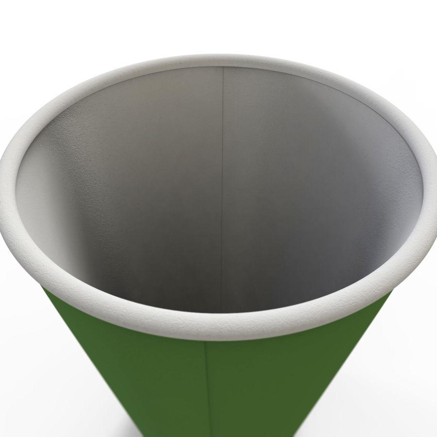 ペーパーコーヒーカップ royalty-free 3d model - Preview no. 8