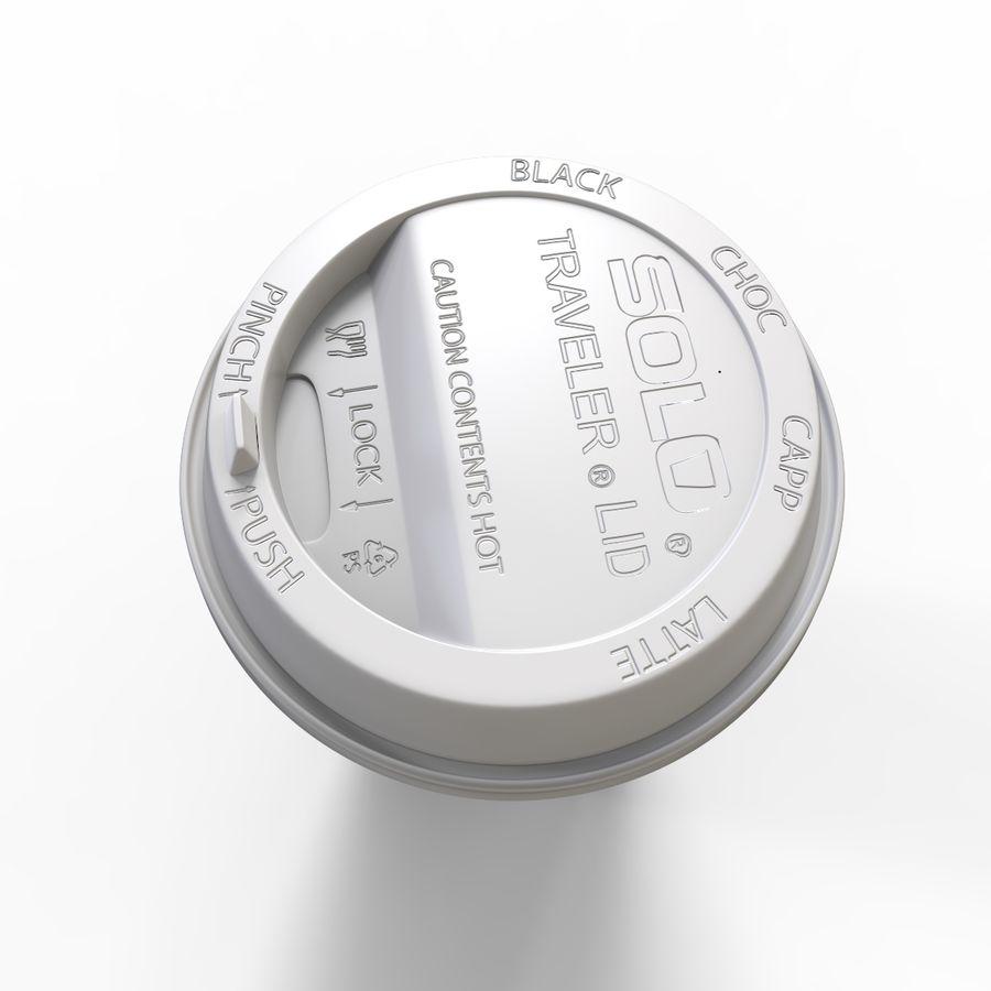 ペーパーコーヒーカップ royalty-free 3d model - Preview no. 9