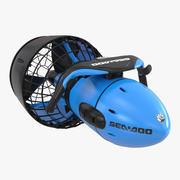 Sea Scooter Diver Propulsion Vehicle 3d model