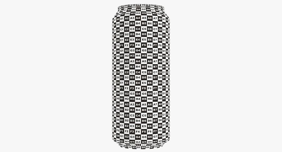 Tall Beverage Can royalty-free 3d model - Preview no. 22