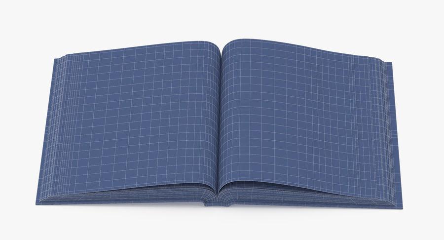 クラシックブック04オープンミドル royalty-free 3d model - Preview no. 10