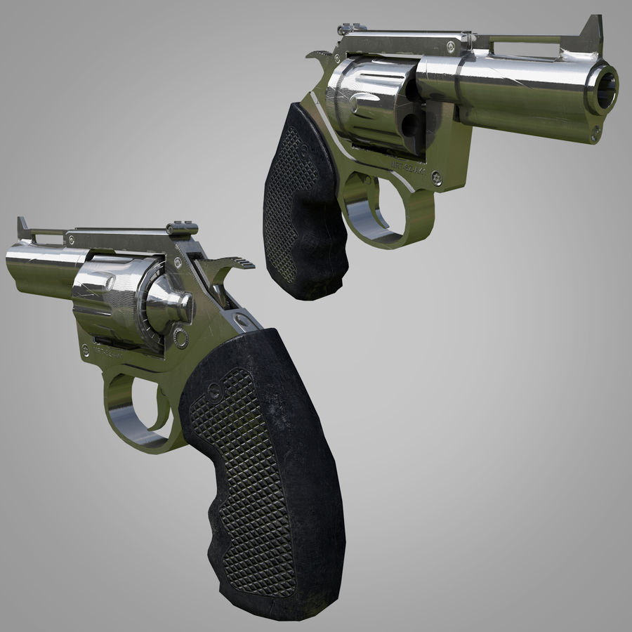 Weapons Pack royalty-free 3d model - Preview no. 9