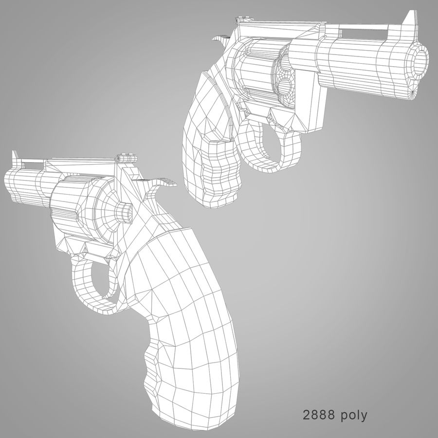 Weapons Pack royalty-free 3d model - Preview no. 10