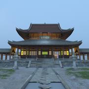 Chiński budynek 3d model