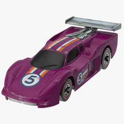 Toy Racecar 03 3d model