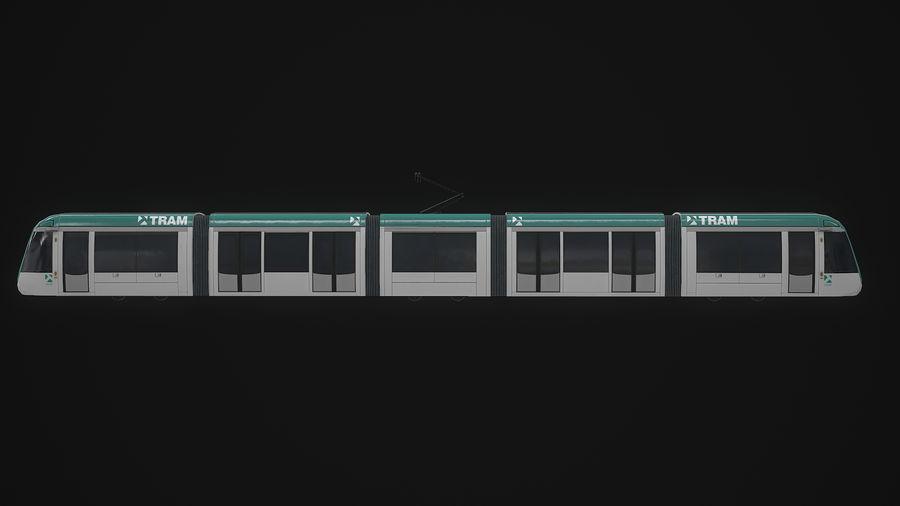 Alstom Citadis 302 PBR royalty-free 3d model - Preview no. 6