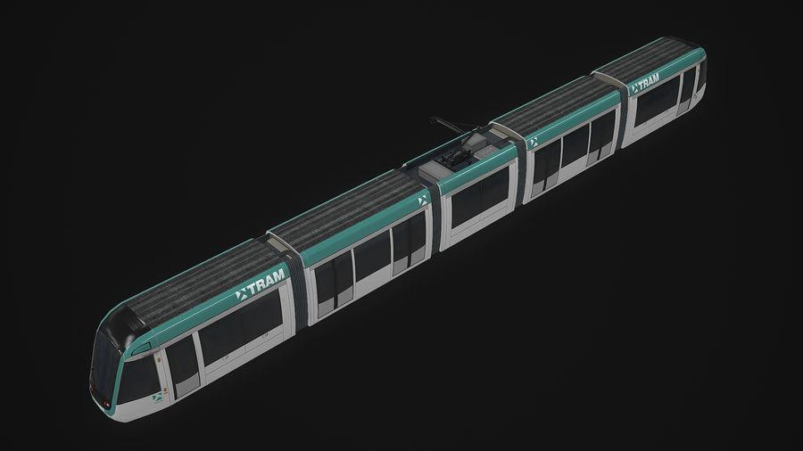 Alstom Citadis 302 PBR royalty-free 3d model - Preview no. 5