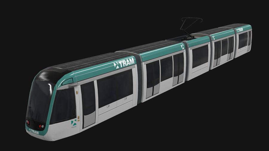 Alstom Citadis 302 PBR royalty-free 3d model - Preview no. 1