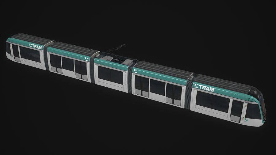 Alstom Citadis 302 PBR royalty-free 3d model - Preview no. 3