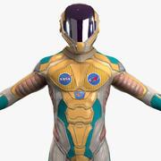 Astronaut-5 3d model