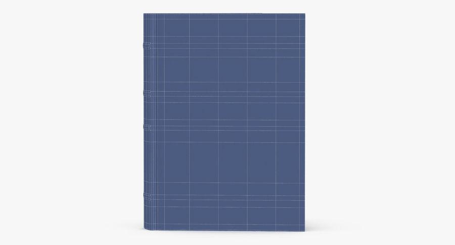 クラシックブック04スタンディングオープン royalty-free 3d model - Preview no. 11