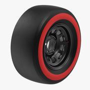 Racing Tire 3d model