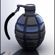 手榴弹 3d model