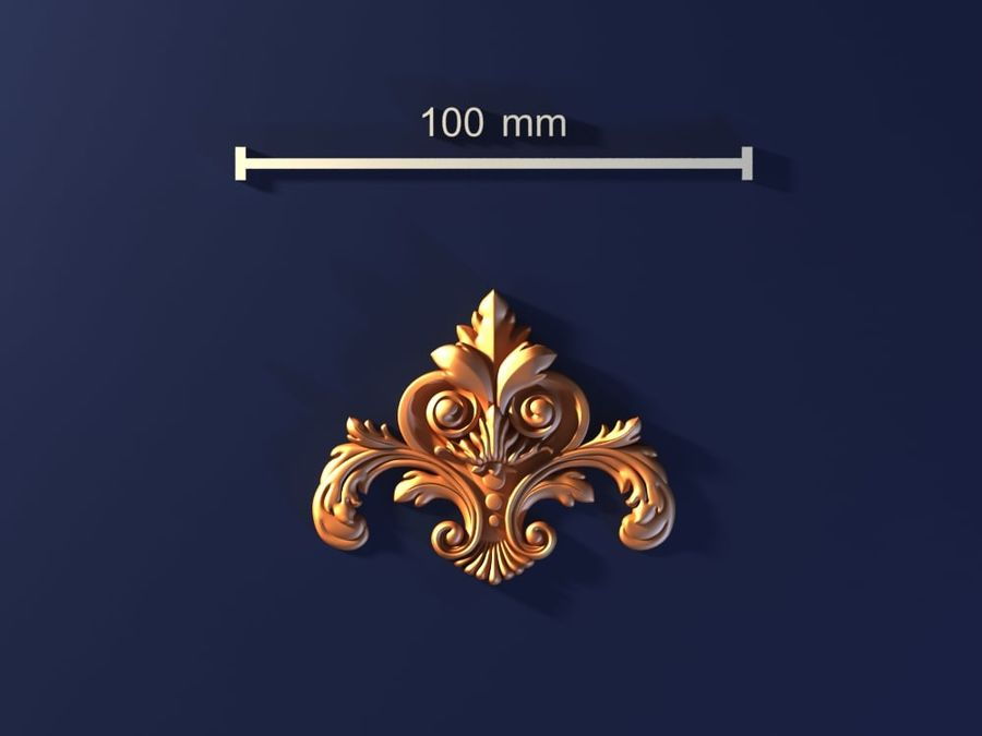 Decoration royalty-free 3d model - Preview no. 1