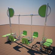Face To Face Swing 3d model