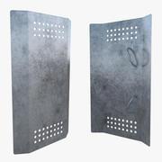 Riot Shield one 3d model