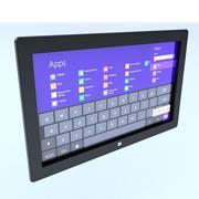 表面平板电脑 3d model