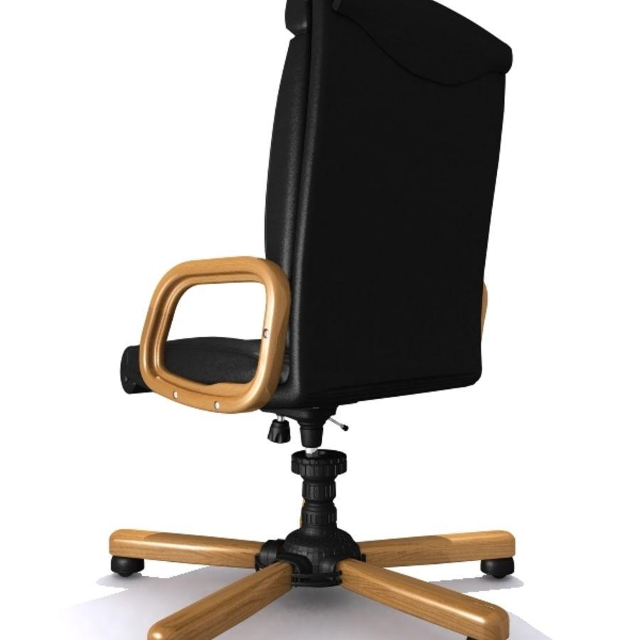 Fåtölj, stol royalty-free 3d model - Preview no. 4