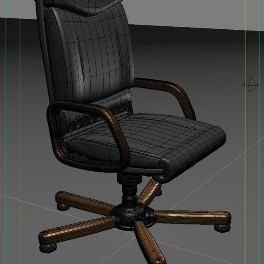 Fåtölj, stol royalty-free 3d model - Preview no. 6