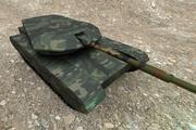 Простой танк 3d model