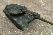Prosty czołg 3d model