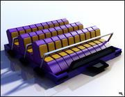 Roller Coaster Seat 3d model