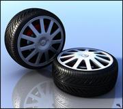 Araba lastiği 3d model