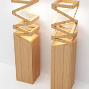 Светильник-001 3d model