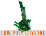Crystal Low Poly Diamond Mineral 3d model