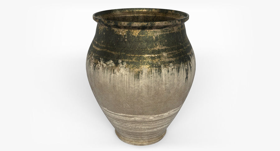 Clay Pot royalty-free 3d model - Preview no. 1