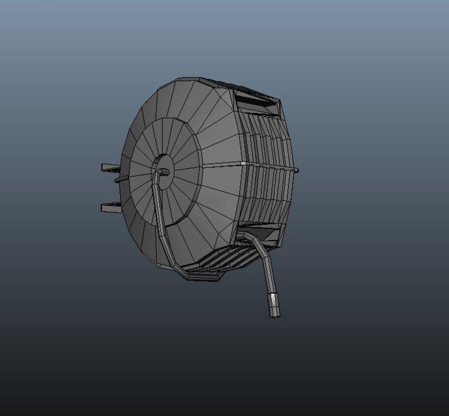 Air Hose Reel royalty-free 3d model - Preview no. 13