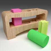 Wooden Mind Game 453 3d model