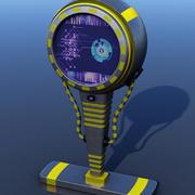Moniteur de panneau Sci-Fi 3d model