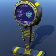 Sci-Fi Panel Monitor 3d model