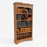 Kitaplık 3d model