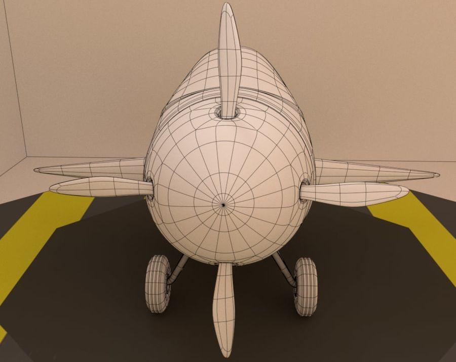 aircraft royalty-free 3d model - Preview no. 9