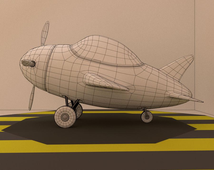 aircraft royalty-free 3d model - Preview no. 8