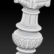 piedestal Rom kolumn 3d model