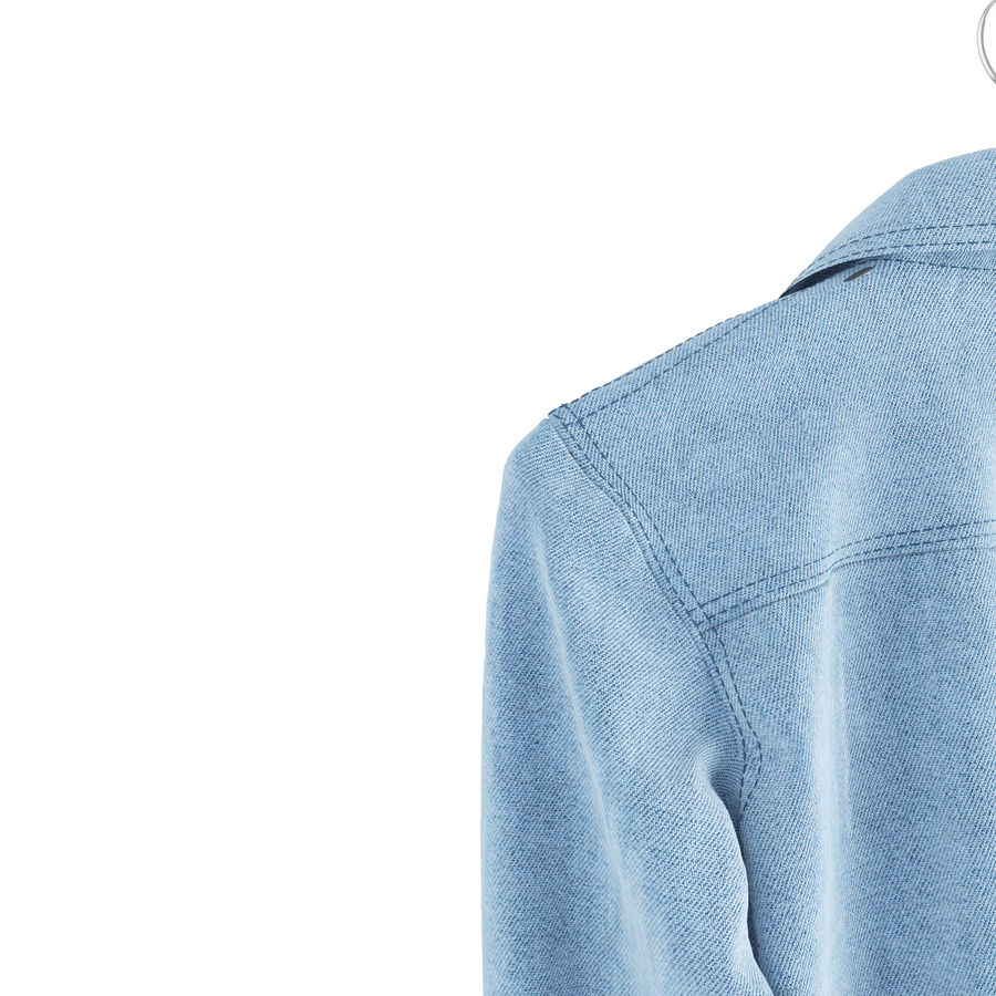 Gömlekler royalty-free 3d model - Preview no. 4