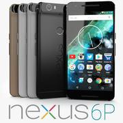 Google Nexus 6P 3d model