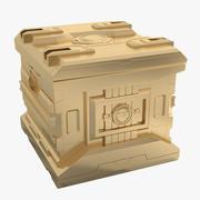 科幻_盒子 3d model