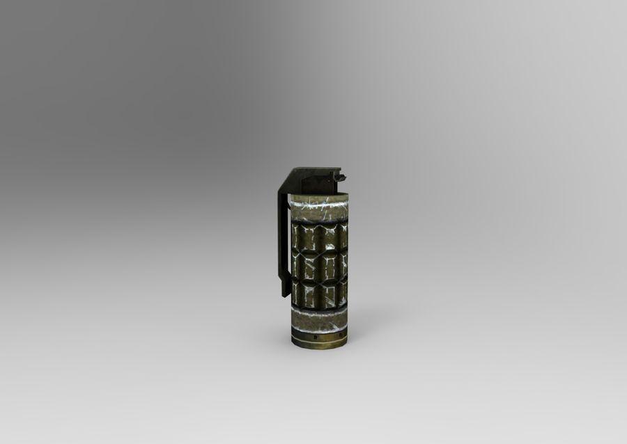 grenade basse poly jeu prêt royalty-free 3d model - Preview no. 5