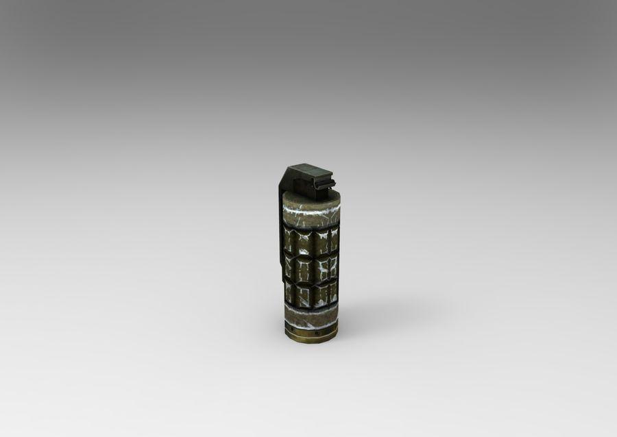 grenade basse poly jeu prêt royalty-free 3d model - Preview no. 6