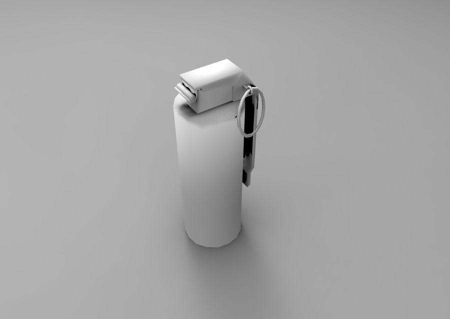 grenade basse poly jeu prêt royalty-free 3d model - Preview no. 15
