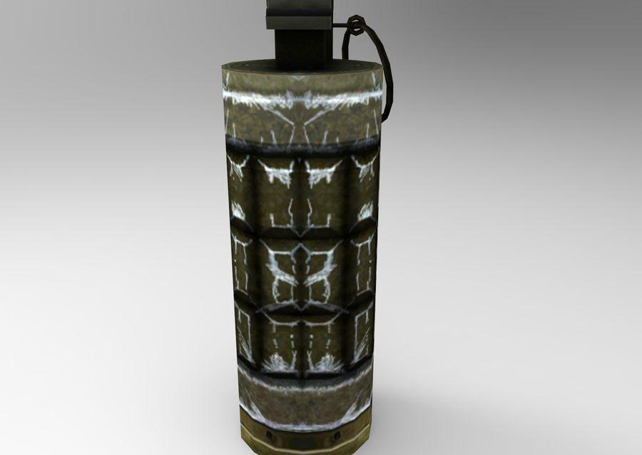 grenade basse poly jeu prêt royalty-free 3d model - Preview no. 10
