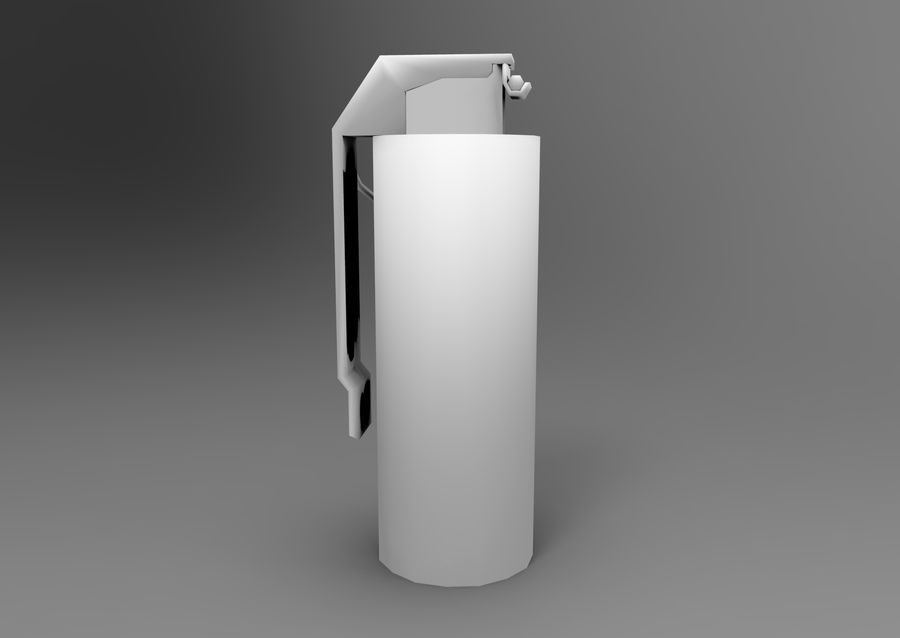 grenade basse poly jeu prêt royalty-free 3d model - Preview no. 12