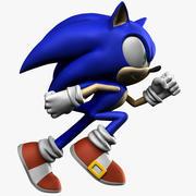 Jeż Sonic 3d model