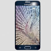 Samsung S6 cracked screen 3d model