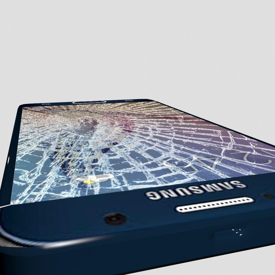 삼성 S6 금이 화면 royalty-free 3d model - Preview no. 2